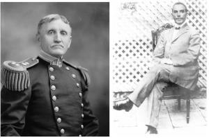 Admiral William B. Caperton and Dr. Rosalvo Bobo