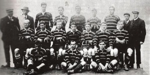 Cornwall's county team, representing Great Britain, won silver at the 1908 Olympics
