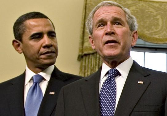 obama-and-bush